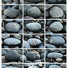 Abstracts from the Beach by Yampimon