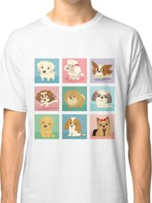 Many poses of puppies Classic T-Shirt