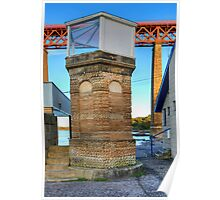 Hawes Pier Beacon Poster