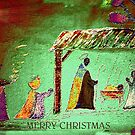 Christmas Card # 5 by Esperanza Gallego