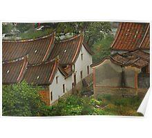 dwelling of South Fujian Poster