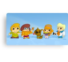 Scooby Doo Gang Canvas Print