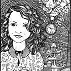 Waiting For The Hatter  by Anita Inverarity