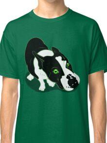 Mr Bull Terrier Green Classic T-Shirt
