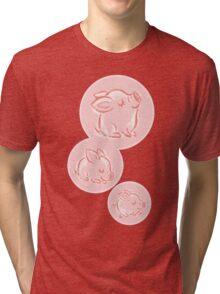 Pink Piggy Tri-blend T-Shirt