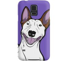 Excited Bull Terrier  Samsung Galaxy Case/Skin