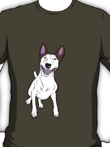Excited Bull Terrier  T-Shirt