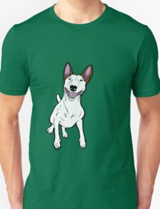 Excited Bull Terrier  T-Shirt