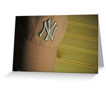 NY Yankees Fan Greeting Card