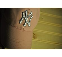 NY Yankees Fan Photographic Print