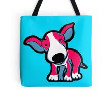 EBT Puppy Pink , White and Teal  Tote Bag