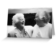 having the time of their lives Greeting Card