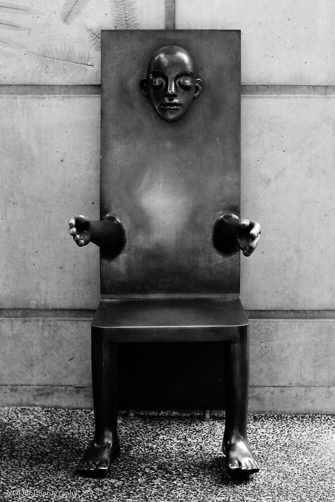 Sculpted Chair - Brisbane Botanic Gardens by Jordan Miscamble