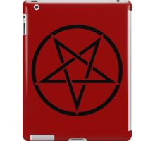 Satanic Pentagram iPad Case/Skin
