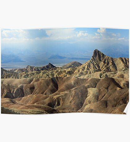 Zabriski Point. Death Valley, Nevada Poster
