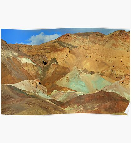 Artists Palette Mountains, Death Valley, Nevada Poster