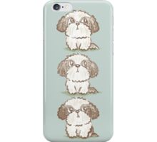 Three Shih Tzu iPhone Case/Skin