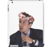 Flower Crown Mulder iPad Case/Skin