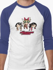 Avalanche Girls Men's Baseball ¾ T-Shirt