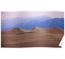 Dune-early morning dunes in Death Valley Poster