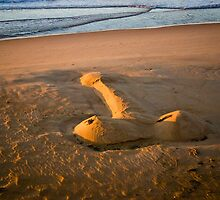 The Giant Sand Knob of Golden Beach by James Cole