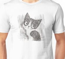 Portrait of a kitten Unisex T-Shirt