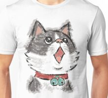 Cat wearing bells Unisex T-Shirt