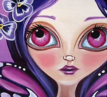 """Pansy Fairy"" by Jaz Higgins"