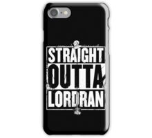 Straight Outta Lordran iPhone Case/Skin