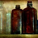 Antique Bottles by Mattie Bryant