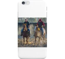 Frosty Morning Riders iPhone Case/Skin