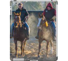 Frosty Morning Riders iPad Case/Skin