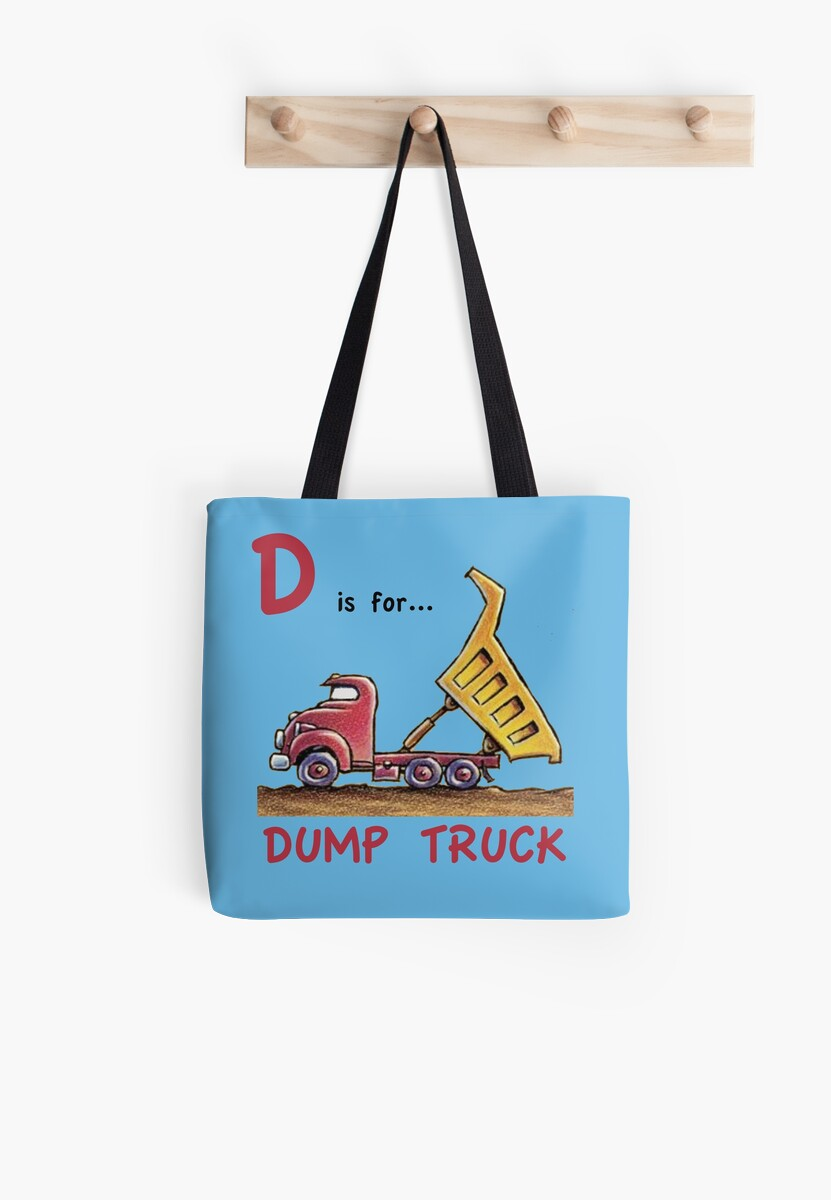 D is for Dump Truck by antsp35