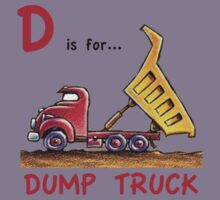 D is for Dump Truck Kids Clothes