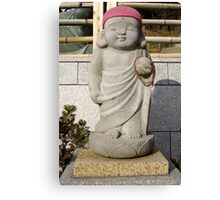 baby buddha Canvas Print