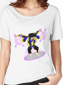 Detective Comics Presents: Superhero Static Shock! Women's Relaxed Fit T-Shirt