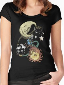 The Moon and the Sun Women's Fitted Scoop T-Shirt