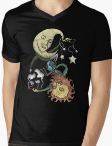 The Moon and the Sun Mens V-Neck T-Shirt