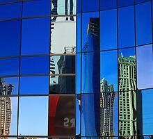 Evening Reflections-Las Vegas landcape by mypic
