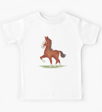 Horse is walking Kids Clothes