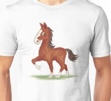 Horse is walking Unisex T-Shirt
