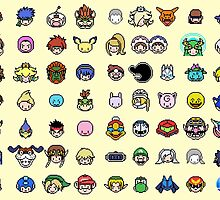 Pixel Smash Bros! by PatAck