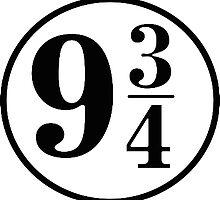 Platform Nine and Three Quarters by foreversarahx