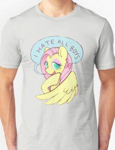 Fluttershy (I HATE ALL BOYS) T-Shirt