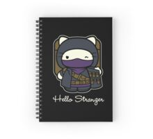 Hello Stranger Spiral Notebook
