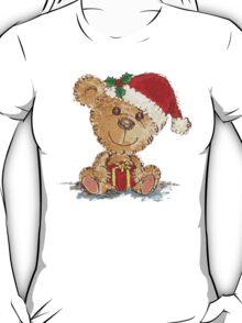 Teddy bear at Christmas T-Shirt
