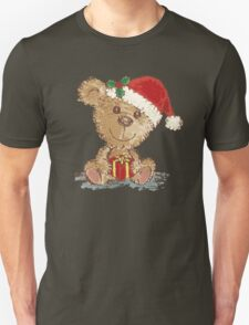 Teddy bear at Christmas T-Shirt