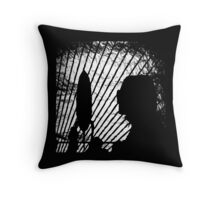 Get Yourself High With Music! Throw Pillow