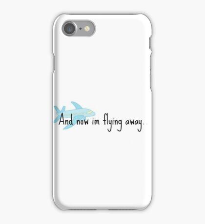 flying away (fun home) iPhone Case/Skin