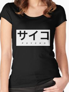 Psycho Women's Fitted Scoop T-Shirt